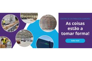 O Centro de Distribuição Europeu está a tomar forma