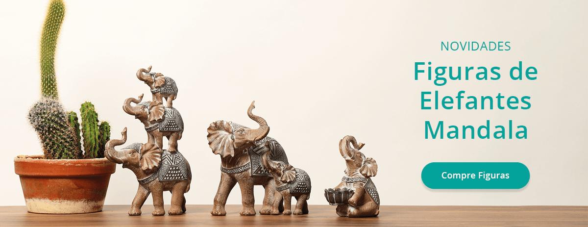 Elefantes e Budas